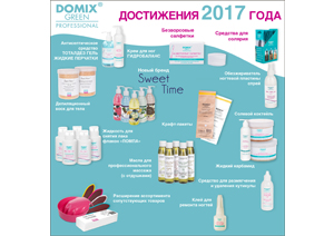 Достижения Domix Green Professional за 2017 год